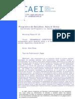 Desarrollo Cientifico Tecnologico Comparacion Entre Latinoamerica y Asia