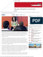 Las Lecciones de Vida Que Entregó La Ovacionada 'Crespita' Rodríguez _ Deportes