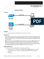 CCNPv6 SWITCH Lab1-1 Clearing Switches Student