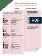 Les Symboles Du 11 Novembre en France Et en Angletterre (Fiche Élève)
