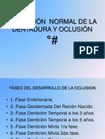 Evolución  normalde la dentadura y oclusión.pptx
