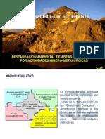 3. Restauración de Tierras Disturbadas CODELCO