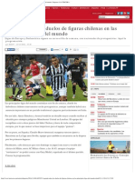 Agenda_ Todos Los Duelos de Figuras Chilenas en Las Principales Ligas Del Mundo