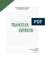 Geometria( Triángulos Esféricos ).docx
