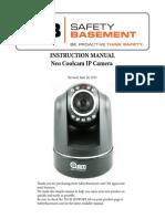 Manual Câmera Neocam