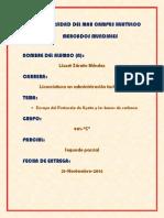 SEGUNDO PARCIAL BONOS DE CARBONO LIZZET ZÁRATE MÉNDEZ 901-C