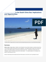 China's Moves in the South China Sea Implications and Opportunities