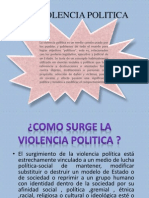 Violencia Politicxa