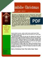 Christmas 2012 Newsletter