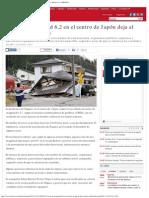 Sismo de Magnitud 6,2 en El Centro de Japón Deja Al Menos 60 Heridos _ Mundo _ L