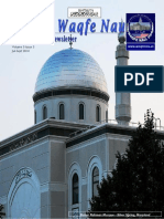 Waqfenau Newsletter Vol3 Issue 3 July Sep 2014
