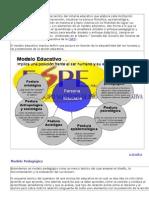 Diferencias entre Modelo Educativo y Modelo Pedagógico