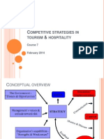 7.Competitive Strategies in Tourism & Hospitality