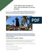 San Toribio, Niños Migrantes