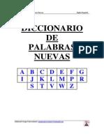 Diccionario de Palabras Nuevas Ingles-Español