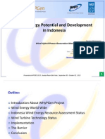 Wind Energy Potential and Development