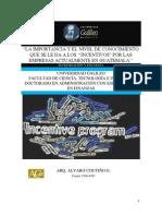 Importancia y Nivel de Conocimiento de Los Incentivos en Guatemala