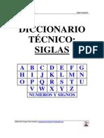 Diccionario Tecnico - Siglas Ingles-Español