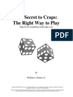 Secret to Craps Rev01