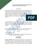 normativo graduación, administración
