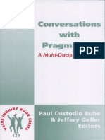 Conversations With Pragmatism