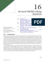 Revised NIOSH