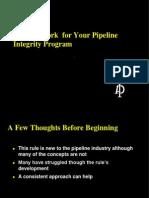 API 1160 Pipeline Integrity