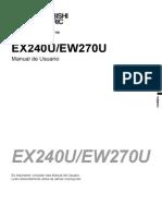 Ex240u Manual Esp