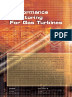 performance monitoring of gas turbine