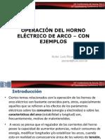 Operación en Hornos de Arco Eléctrico