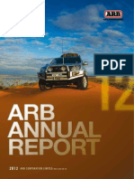 ARB 2012 Annual Report
