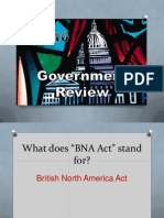 government review