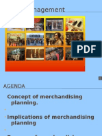 The Concept of Merchandise Planning