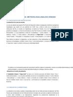 Selección de Una Metodologia Analisis Urbano