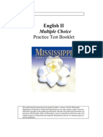 English II Practice Test Set 1
