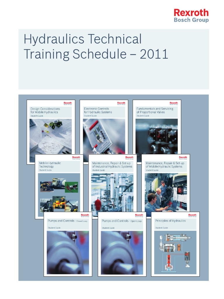rexroth hydraulic training manual