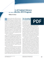 the role of content literacy in an effective rti program pdf from ebsco