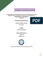 Economic Development in Third World Countries (DBIB)