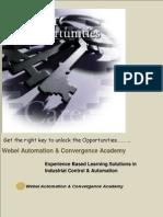 Brochure Webel ACA