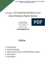 2014-10-16 ATC Design Study UWB Radar System 33