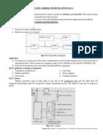 Power Line Carrier Communication Plcc