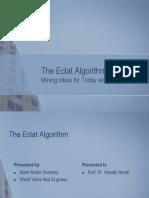 The Eclat Algorithm Final