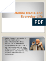 Mobile Media and Everyday Life 2014