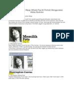Tutorial Membuat Wpap Menggunakan Adobe Illustrator