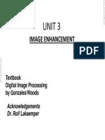 Unit 3 Image Enhancement-2