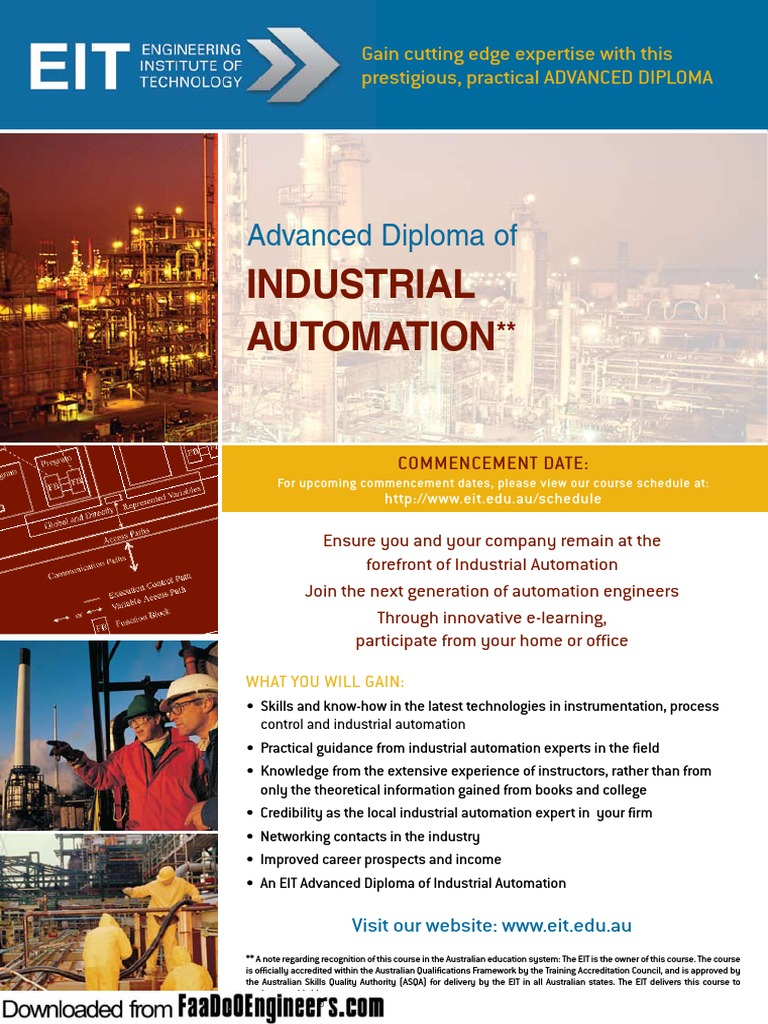 Industrial Automation 1 pdf | Automation | Instrumentation