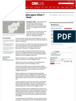 Afghan Bomber Was US Double Agent