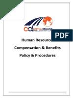 CompensationBenefits Policy