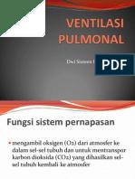 VENTILASI PULMONAL