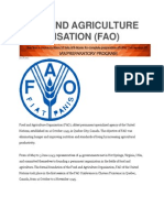 Food and Agriculture Organisation